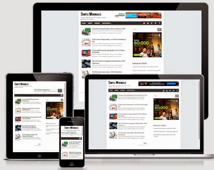Simple-Minimalis - Template Blog Sederhana untuk Blog Pribadi