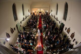 Iluminação da Igreja é um diferencial!