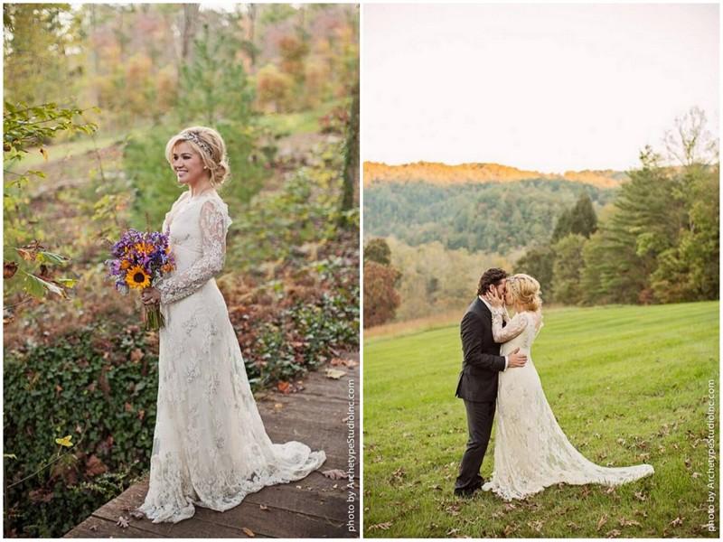 Kelly clarkson the official mrs blackstock knotsvilla for Kelly clarkson wedding dress replica