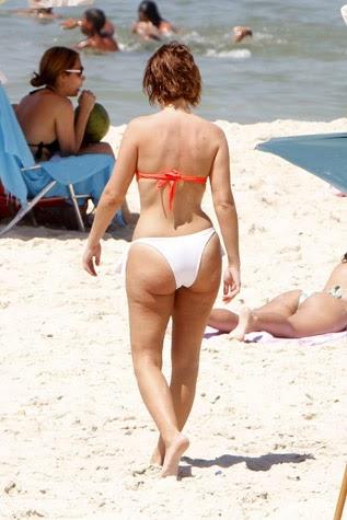 Fotos de Cristina Ferreira em bikini na praia