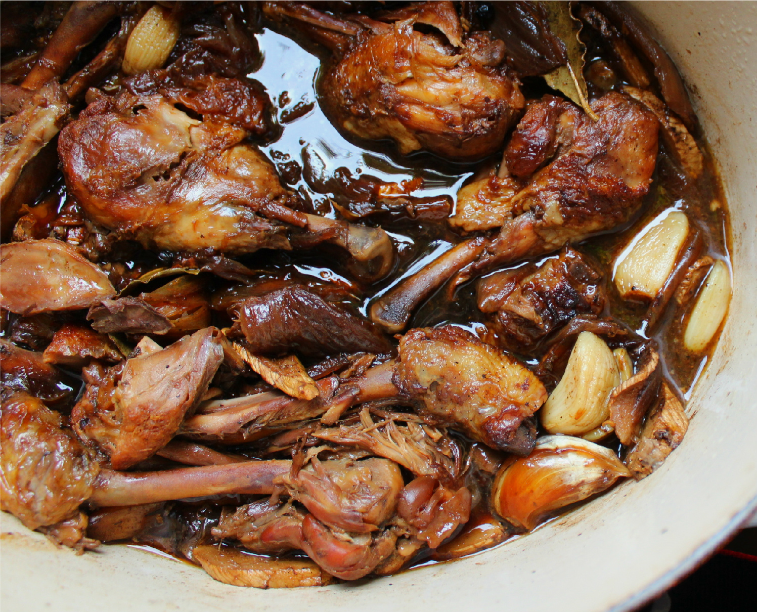 nuts about food filipino chicken adobo