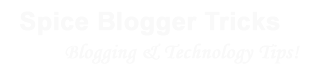 Spice Blogger Tricks