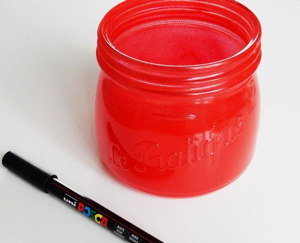 DIY : Le bocal fraise