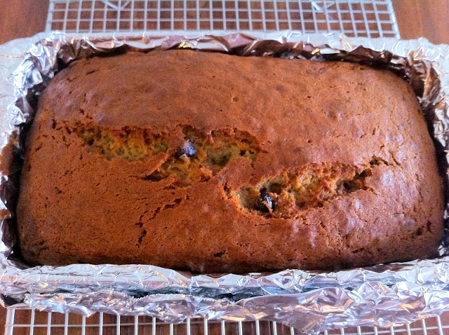 Baked Banana Bread