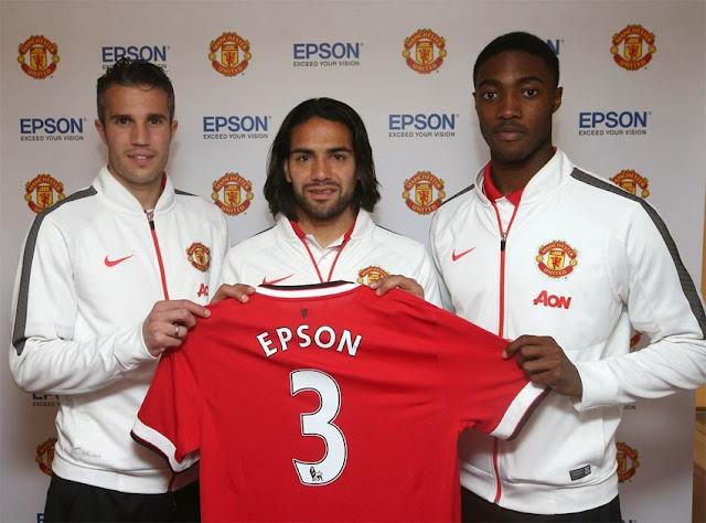 El United renueva a Epson como patrocinador