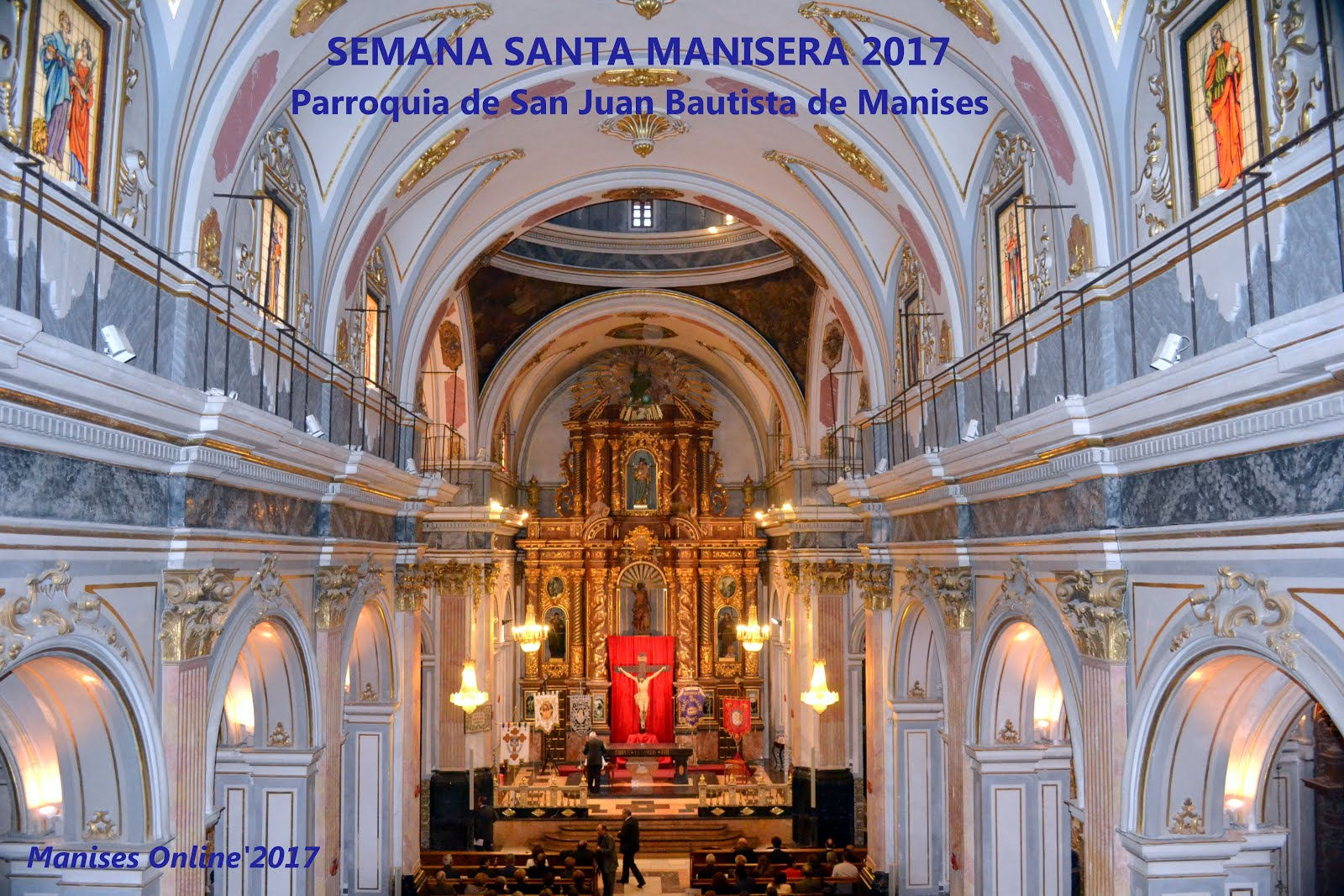 01.04.17 SEMANA SANTA MANI SERA,EL PREGÓ EN LA PARRO- QUIA DE SANT JOAN BATISTE.