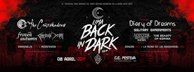 FESTIVAL BACK IN DARK: CRUXSHADOWS+THE FROZEN AUTUMN+CHRISTIAN DEATH + CC FESTIVA. 8 DE ABRIL 2017