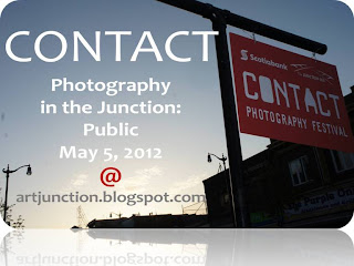 Contact 2012 Photography in the Junction, Opening Night May 5, 2012, collage by artjunction.blogspot.com