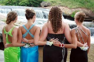 Prom Hair Down