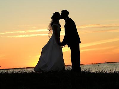 Romantic Wedding at Sunset