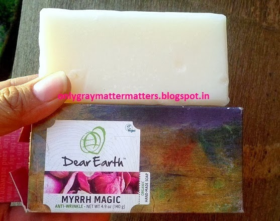 Dear Earth Myrrh Magic Anti-Wrinkle Soap Unived review