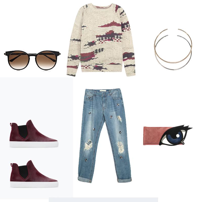 Zara, Céline, Pierre Hardy, Isabel Marant, Thierry Lasry, wishlist, outfit, chic, parisienne