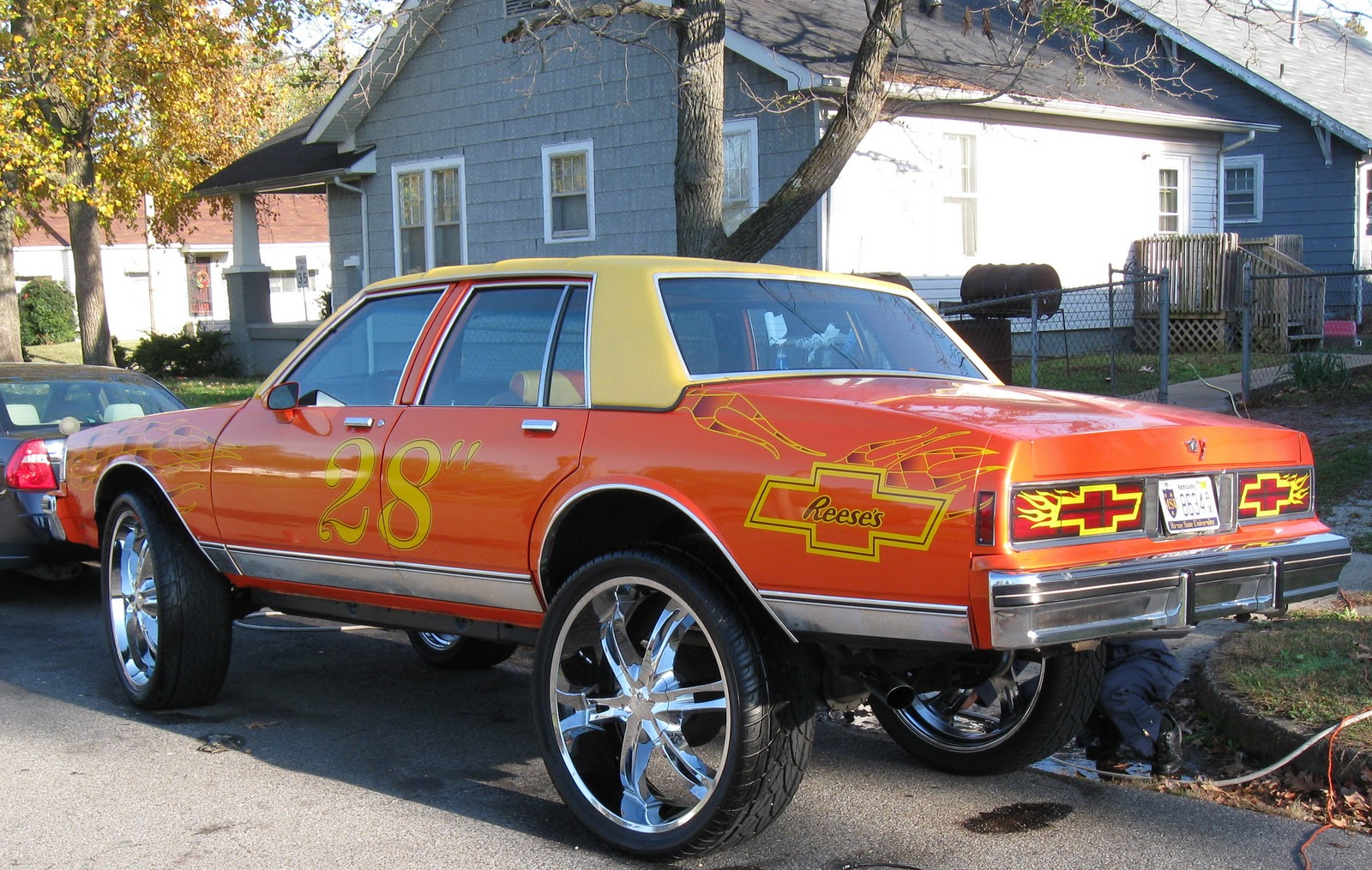 Gearhead Army Suped Up Gangster Mobile Car Hot Rod - Suped up