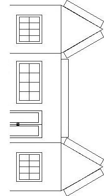 Casa para colorear pintar y armar dibujo views for Piscinas para armar en casa