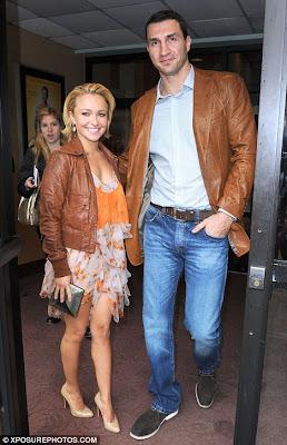 Hayden Panettiere with Boyfriend