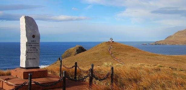 """Cabo de Horn/ Chile - Considerado o """"fim do mundo"""" - Fonte: UOL"""