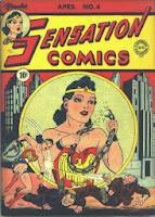 Sensation Comics #4 cover