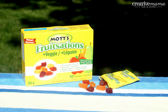 Mott's Fruitsation + Veggie - Lunch box snack contains real fruit and veggies