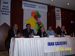 ADAM Sosyal Bilimler Merkezi-Irak Çalışayı : 28-29 Şubat 2008, İstanbul
