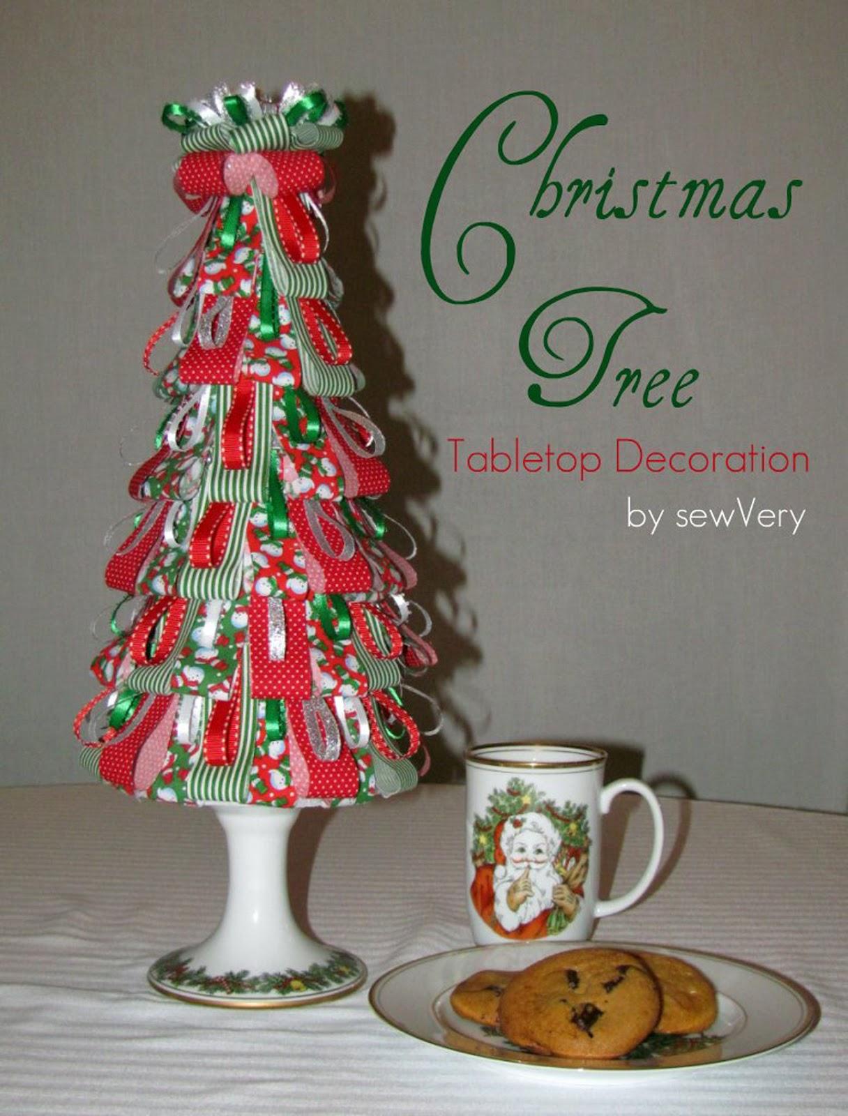 christmas tree fabric design