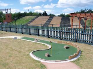 Crazy Golf at Suffolk Leisure Park in Ipswich
