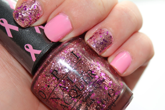 OPI Pink of Hearts 2012 -You Glitter be nice to me