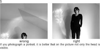 Совет 5. Кода вы снимаете портрет, то лучше что бы на фото была видна не только голова