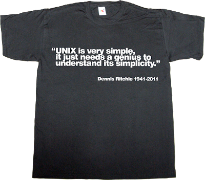 unix disruptive geek helvetica t-shirt ephemeral-t-shirts
