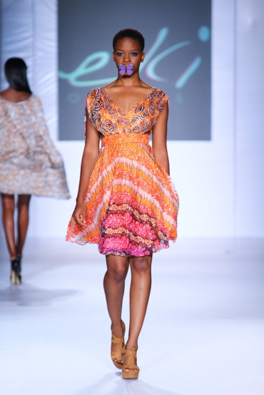 MTN  Lagos Fashion And Design Week 2012: Eki Orleans