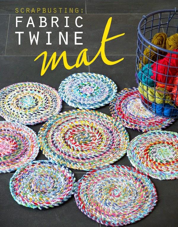 http://mypoppet.com.au/2014/05/fabric-twine-spiral-mat.html
