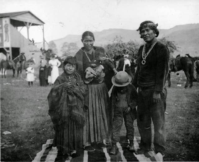 Familia navajo