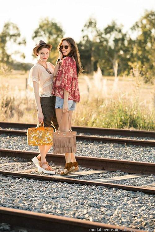 Moda primavera verano 2015. Carteras, bolsos, sandalias y zapatos XL primavera verano 2015.