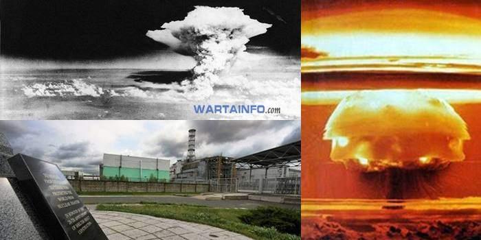 perisriwa insiden Bencana kecelakaan Nuklir paling terbesar terburuk terparah di dunia