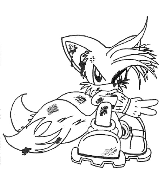 Printable Sonic Coloring Pages for Kids title=