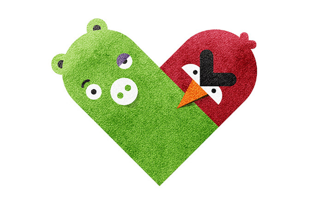 Versus/Hearts by Dan Matutina - The Pig & The Bird