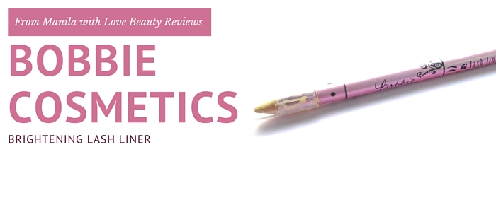 Bobbie Cosmetics Lash Liner Review 1