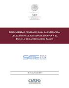 Lineamientos Generales para la prestación del servicio de los SATE 2017