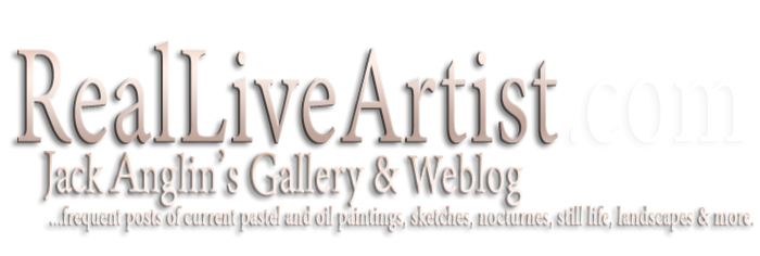 The Jack Anglin Studio and Gallery / Drawings, Pastels, Oil Paintings -nocturnes and more ,