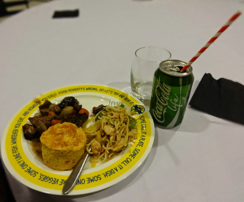 Beef and Noddles at Mumsnet Blogfest 2014 and Coca Cola Life
