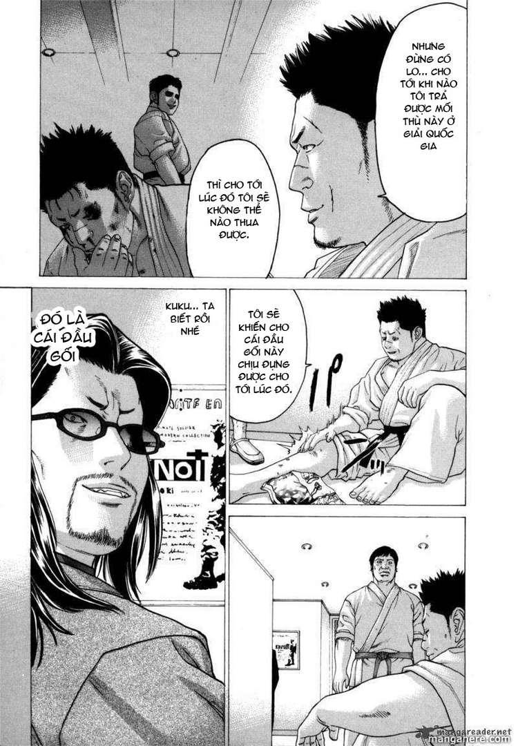 Karate Shoukoushi Kohinata Minoru chap 82 Trang 9