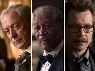 Alfred Pennyworth Lucius Fox Commissioner Gordon