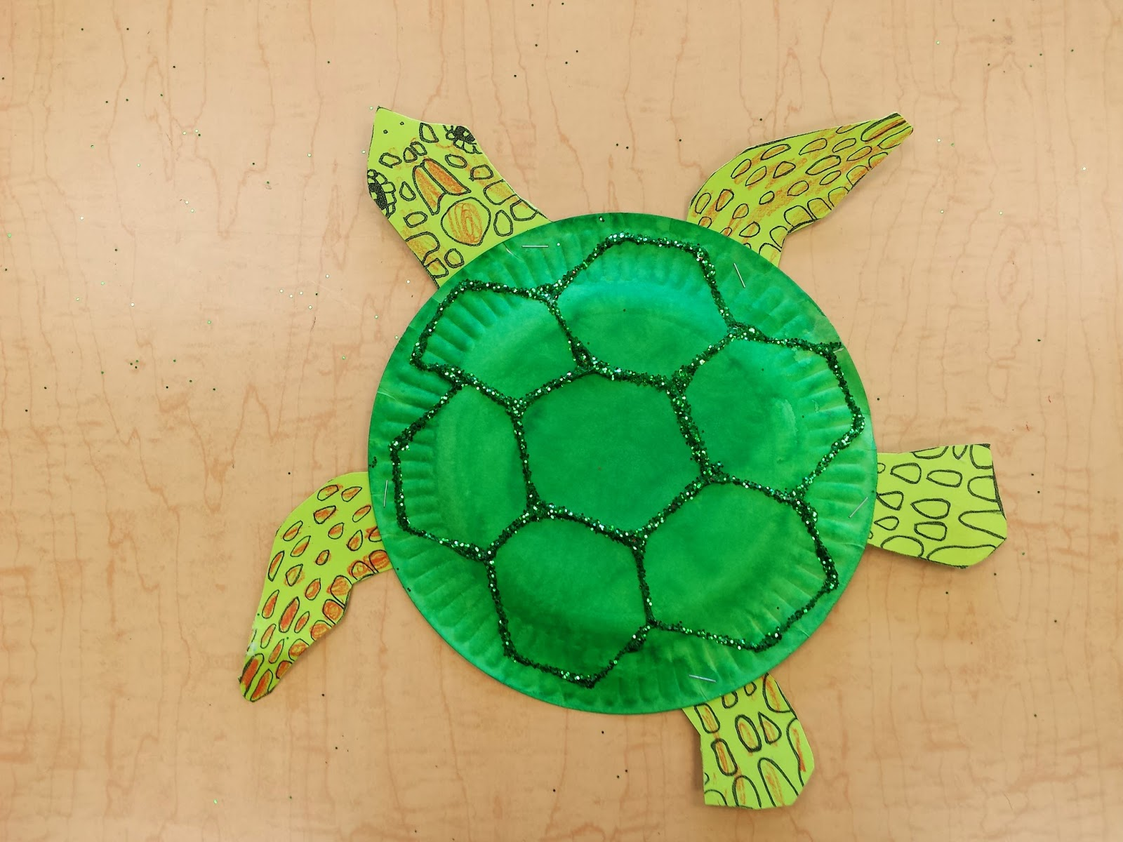 Colors and Kindergarten: Sea Turtles and Sea Horses!