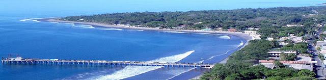 Playa La Libertad en El Salvador
