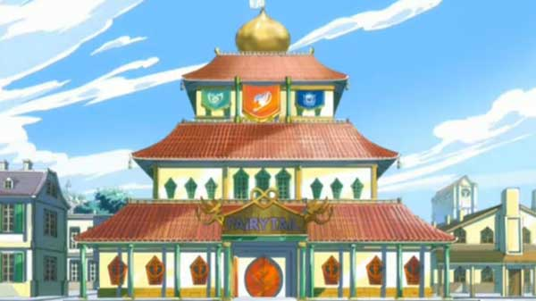 Mengambil misi di markas Fairy Tail