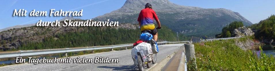 Fahrradreise durch Skandinavien