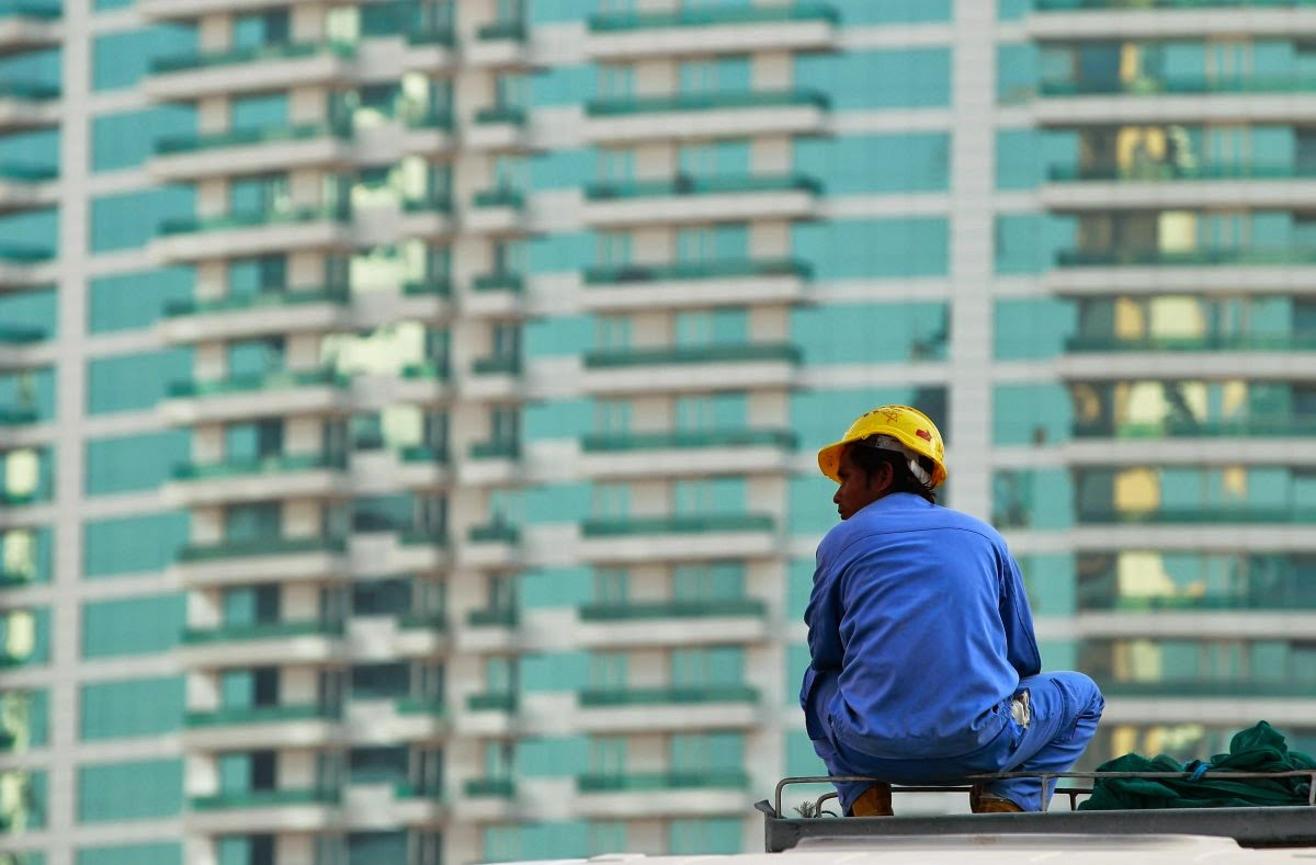 UAE, Sharjah, High rise building, Indian, Worker,