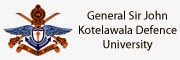 Sir John Kotelawala Defence University (KDU)