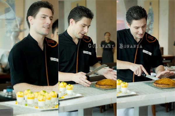 Pastry Chef Alexis at Pullman Jakarta Central Park