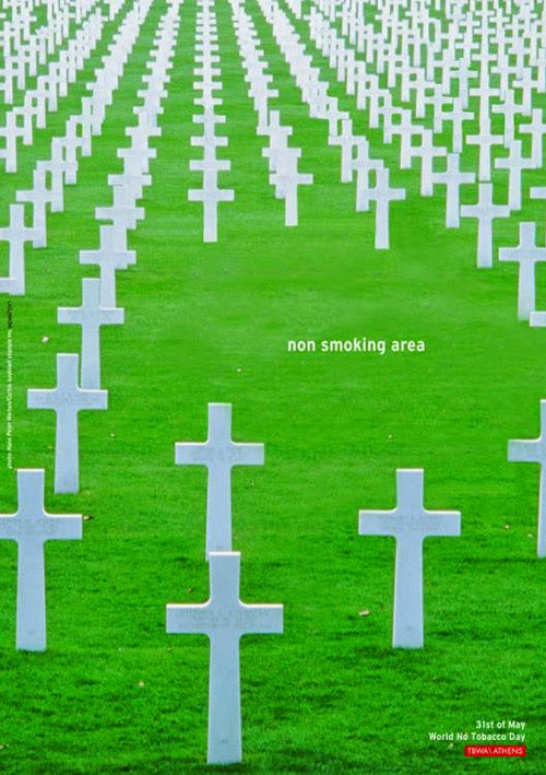 World No Tobacco Day Campanha contra o uso do cigarro non smoking area