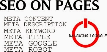 SEO ON PAGES META TAG